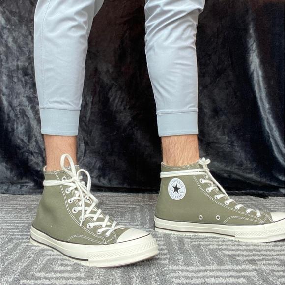 Converse All-Star Dark Olive High-Top Sneaker